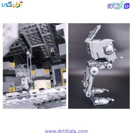 تصویر لگو 1068 قطعه سفینه رباتیک جنگ ستارگان lepin 05052