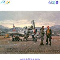 تصویر پازل 1000 قطعه shadow مدل پایگاه هوایی