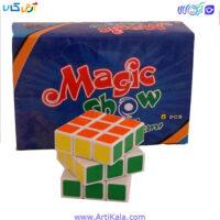 تصویر روبیک 3*3 استیکردار   magic show