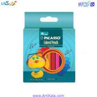 تصویر مداد رنگی 12 رنگ سایز کوچک پیکاسو
