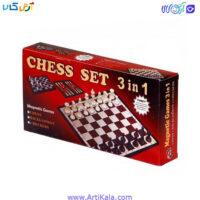 تصویر شطرنج 3 در 1 | Magnetic Games