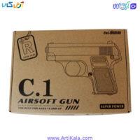 تصویر کلت فلزی مدل airsoft gun c.6