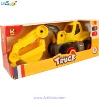 تصویر ماشین خاکبردار اسباب بازی مدل truck series