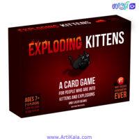 تصویر بازی فکری گربه های انفجاری اورجینال ایدیتیشن ایلما