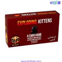تصویر بازی فکری گربه های انفجاری ma Games