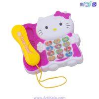 تصویر تلفن موزیکال کیتی مدل 8625