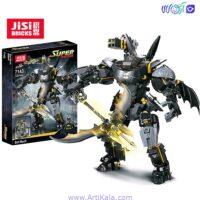 تصویر لگو ربات بتمن مدل JISI 7143
