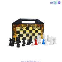 تصویر شطرنج آهنربایی آماندا مدل پرشیا