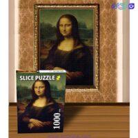 تصویر پازل 1000 موناليزا مدل slice 01256