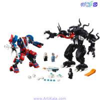 لگو ربات مرد عنکبوتی و ونوم Bela11188