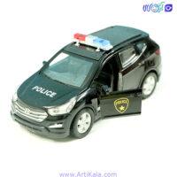 ماشین فلزی سانتافه پلیس